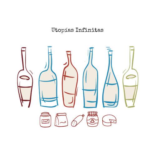 utopias infinitas. pack club 6 botellas