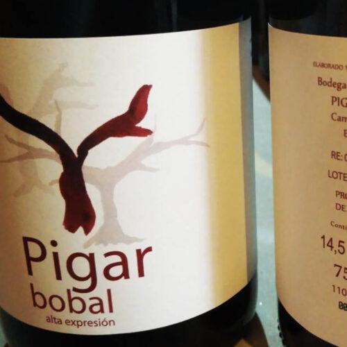 Pigar Bobal 2017. Vinos Utópicos