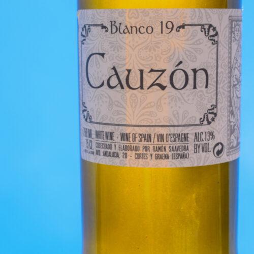 Cauzon Blanco 2019. Vinos Utópicos