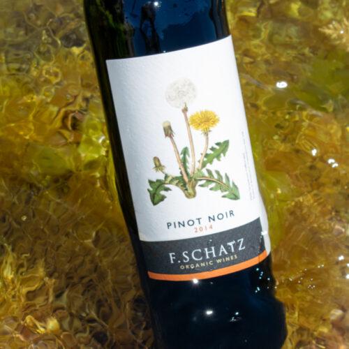 F. Schatz Pinot Noir 2014. Vinos Utópicos