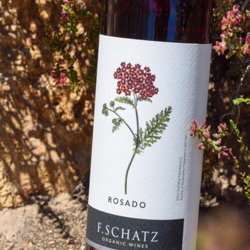 F. Schatz Rosado 2019. Vinos Utópicos