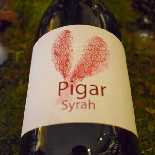 Syrah Pigar 2017. Vinos Utópicos