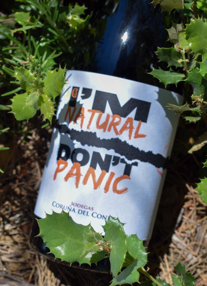 I'm Natural Don't Panic Orange 2018 #9